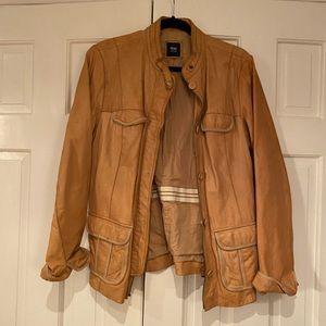 Gap Carmel leather jacket XL